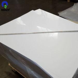 0.7mm光沢のあるPVCシート500micronポーランドの白いシート1000X1400mm PVCシート