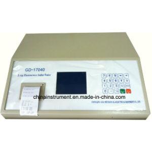 Edxrf automatique de la fluorescence du soufre dans l'analyseur d'huile de la norme ASTM D4294