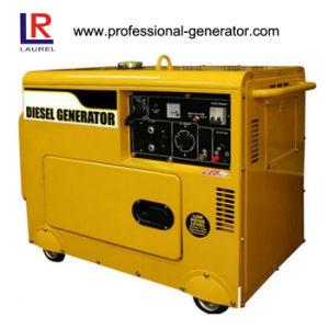 Los pequeños 5.5kVA generador diesel para la venta