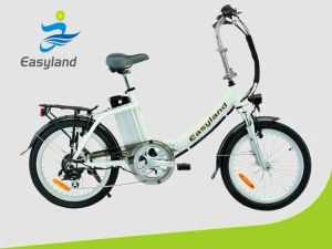 Brushless 36V/250W Eléctrico Dobrável Lady Bike com 20 polegadas Pneu Kneda Shimano6/7as engrenagens de velocidade