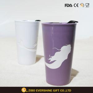 熱い販売の世帯のステッカーのコーヒー陶磁器のマグ