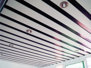 Стабилизатор поперечной устойчивости покрытия алюминиевых круга для Gutter / затвор двери / ПОТОЛОЧНЫЕ / АКТ
