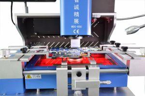 Máquina de BGA actualizado 650 Reparação BGA Estação Retrabalho BGA de infravermelho de uso
