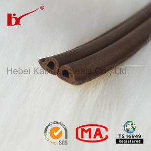 Tipo striscia di gomma della gomma piuma D dell'espulsione di sigillamento