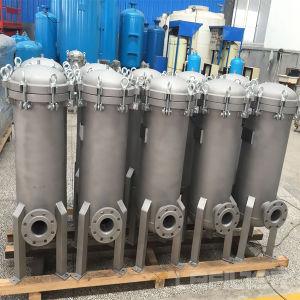 Wasser-Edelstahl-Filtergehäuse für Abwasser-Filtration