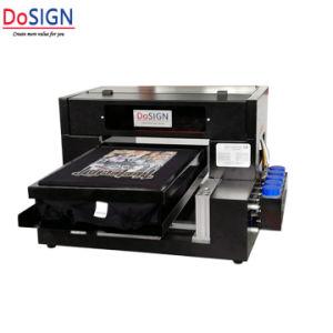 듀퐁 직물 잉크를 가진 A3 8 색깔 면 의복 직물 인쇄 기계