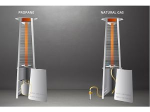 Легко управлять пирамиды природного газа на внутренний дворик с маркировкой CE обогревателя