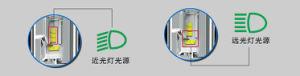 X3 светодиодный индикатор освещения автомобиля фары H4 6000лм
