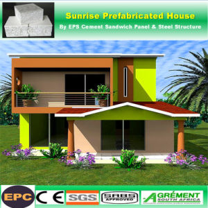 Galvanizado en caliente de estructura de acero prefabricada Taller Apartamento Edificio Modular prefabricados