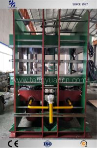 Efficienct vulcanização pneu sólido de Alta Press/sólidos de cura dos pneus Press