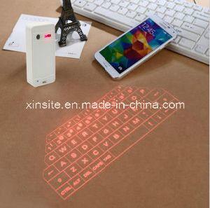 2015 het Hete Virtuele Toetsenbord van de Laser van Bluetooth van Nieuwe Producten met de Bank van de Macht Rechagable (xst-004)