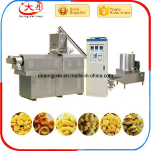 Les anneaux de maïs des boucles de collations machine Machines d'extrudeuse