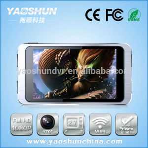 Full HD 1080P Car Camera Car Black Box GPS Car DVR Camera with 5.0 Mega Sensor
