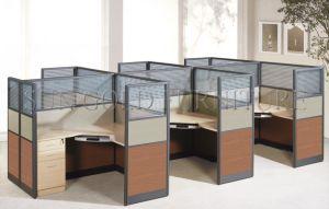 Escritorio de alta durabilidad clásico diseño de Call Center cubículos de oficina (SZ-WS344)