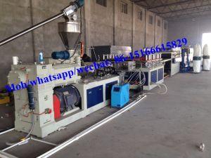 Conseil de mousse PVC Making Machine/WPC Conseil de mousse de ligne/ligne de production d'Extrusion