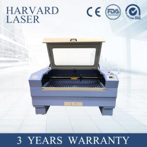기계를 광고하는 의류가 직물, 로고를 위한 절단 장비를 새기는 CNC CCD에 의하여,