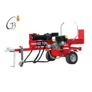 ガソリンログのディバイダー木機械