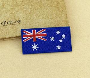 Bandera Nacional de personalización de la Insignia bordada Conmemorativa