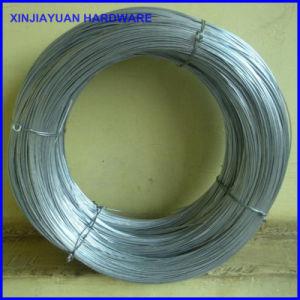 White 1,25mm X 50m de fio de ligação do fio de ligação galvanizado