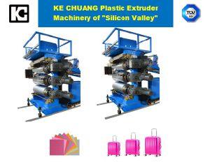 CKD 3pièce sacs chariot feuille de plastique ABS PC Machine de l'extrudeuse