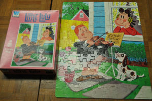 Il documento del fumetto di Hotsale scherza il puzzle del puzzle del giocattolo con stampa su ordinazione