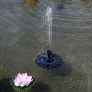 Fuente de Energía Solar de aves de la bomba de estanque de jardín de la bomba de agua de baño
