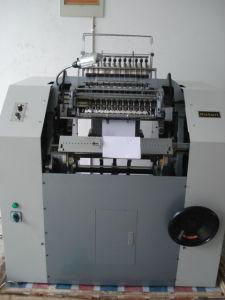 製本のミシンSxc-460は2008年以来のスロバキアのために販売した
