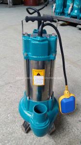 Pompe ad acqua sommergibili elettriche del taglio delle acque luride dell'acciaio inossidabile