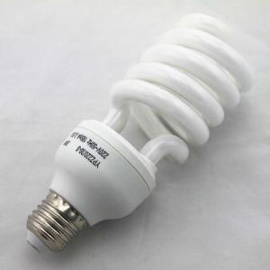 24W metade compactas em espiral da lâmpada com vida útil de 8000 Horas