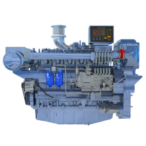 Dieselmotor van de Boot Wd618 van de Motor Wd12/van Weichai 400HP de Mariene met CCS