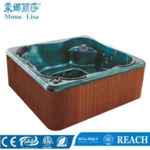 5 a 6 Pessoa acrílico exterior massagem SPA Tub (M-3317)