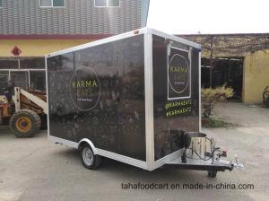 高品質の多機能のホットドッグは販売のための食糧カートを運ぶ