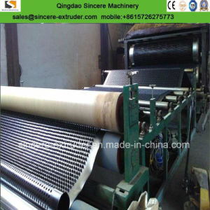 Garage machine à carton de drainage Drainage HDPE de feuilles en plastique extrudeuse