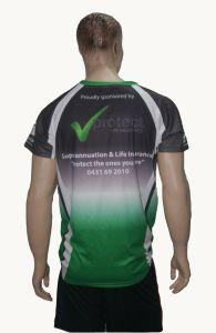 Personalizzare le magliette 100% di sublimazione del O-Collo del poliestere
