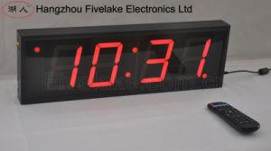 """4"""" 4 dígitos do temporizador de relógio de parede digital LED (FDC-404)"""