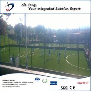 11X11 la gente de campo de fútbol de todo el sistema de césped artificial con Shock Pad y Infills