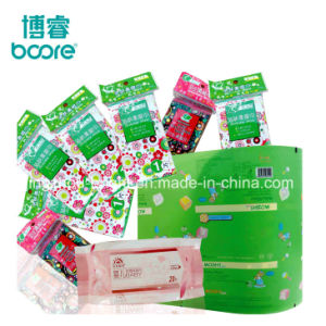 Fabricación de film para embalaje de plástico toallitas de limpieza facial