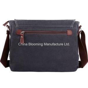 14 '' Laptop Leisure Canvas Mens Messenger Shoulder Crossbody iPad Bag