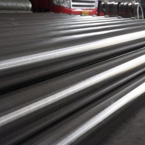 Setaccio caldo dell'acciaio inossidabile di vendita di prezzi di fabbrica e tubo dello schermo spostato collegare