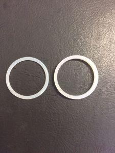 ゴム製シールリングのOリングの透過シリコーン材料