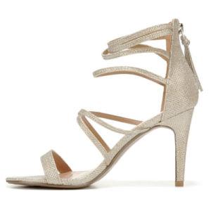 2018 a las mujeres de confort personalizado señoras Elegante zapato Sandalia de cuero de PU