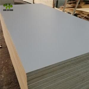 Laminado de melamina para mobiliário de madeira compensada comercial
