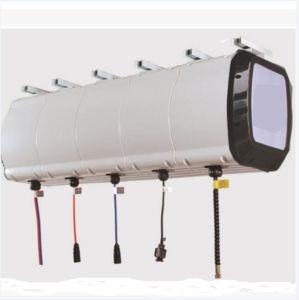 Risneseのカーウォッシュ装置のための壁に取り付けられたホースの巻き枠の組合せ