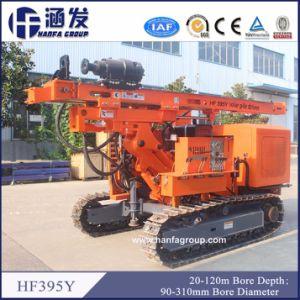 Hf395y Pilar Solar PV Pile Driver Ramming amontonar la máquina