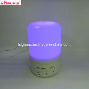 LEDライトデザインはタイマーが付いている精油の拡散器のプラグを差し込む
