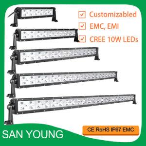 Les cris de 22 pouces 10W barre lumineuse à LED 12V24V simple rangée