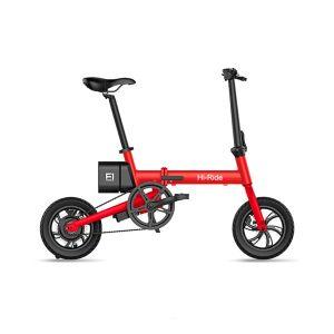 Rueda de 12 pulgadas de alta calidad Mini bicicleta eléctrica plegable