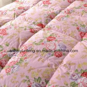 Hotel novo tecido de algodão lavável Cama Edredon de penas de Pato Branco/Sair/Consolador