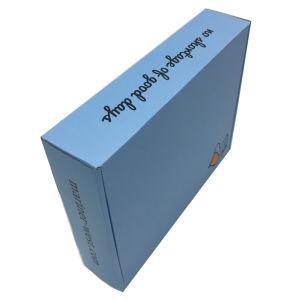 Boîte d'expédition en carton ondulé fait sur mesure pour les costumes