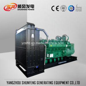 Generatore diesel elettrico di potere 1000kw di Yuchai con l'alternatore senza spazzola di AVR
